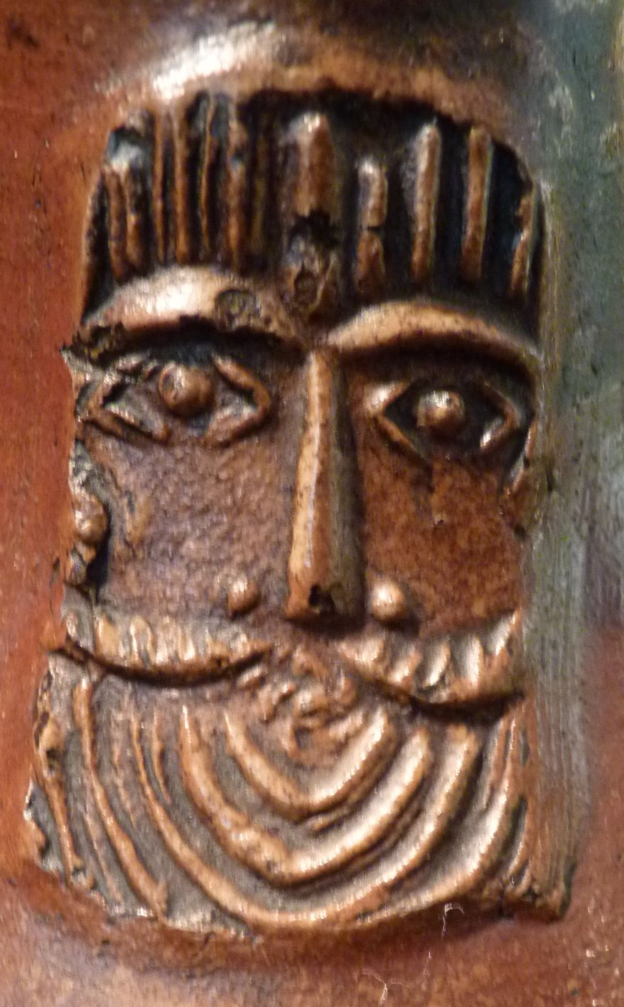 Detail from a Bellarmine jug