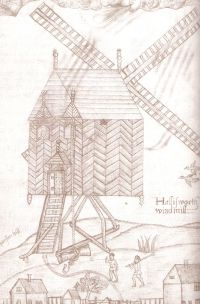 Halesworth Windmill from Fella's book.