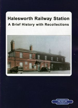 Halesworth Railway Station Book web