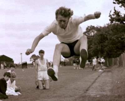 Halesworth Modern School sports day 1965.