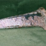 Flanged Bronze Age Axe Head found in Bramfield